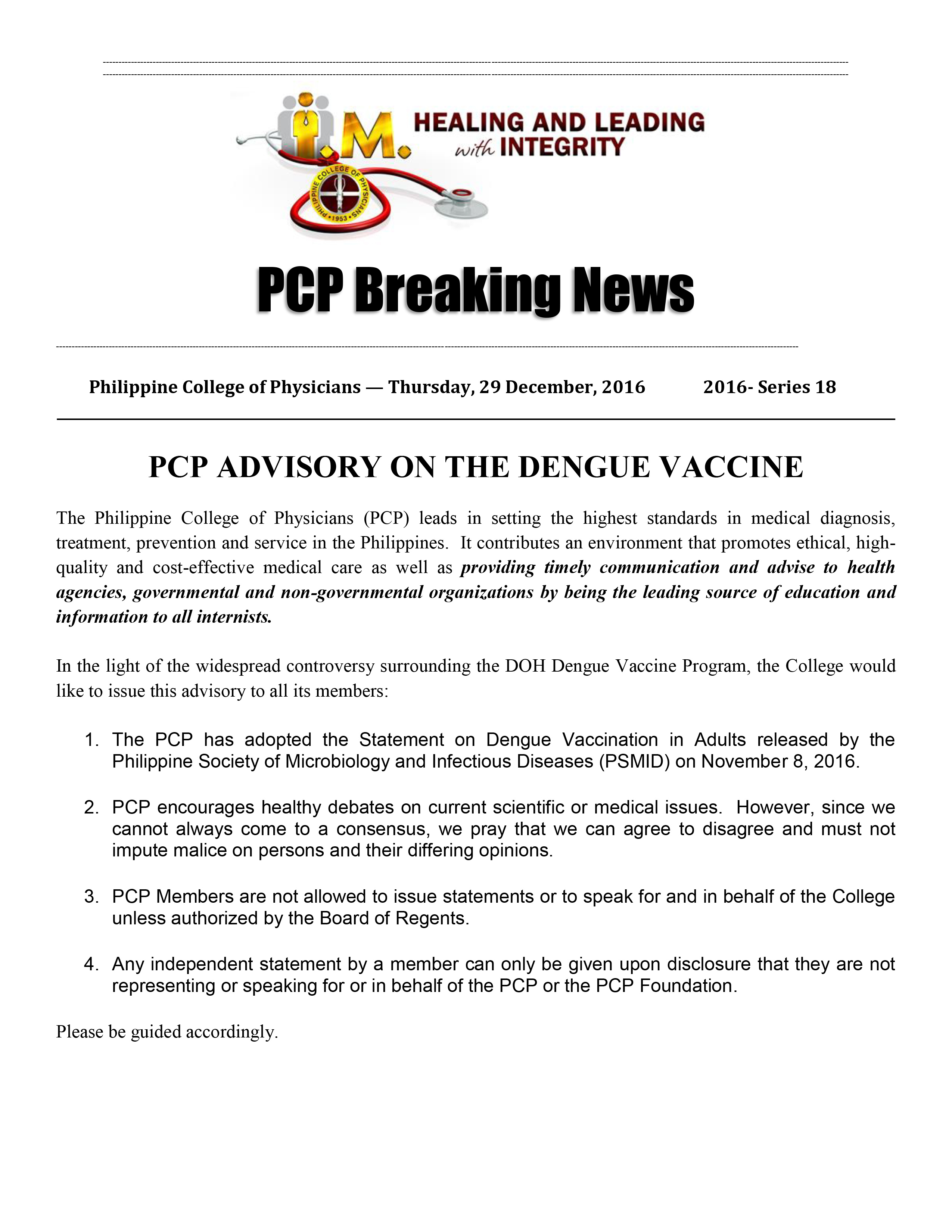18th PCP Breaking News 122931