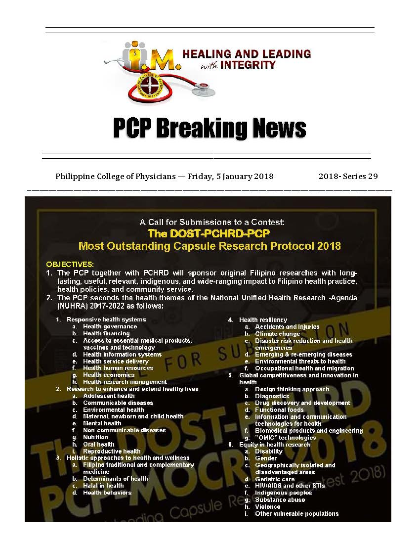 PCP Breaking News 2018 series 29 Page 1