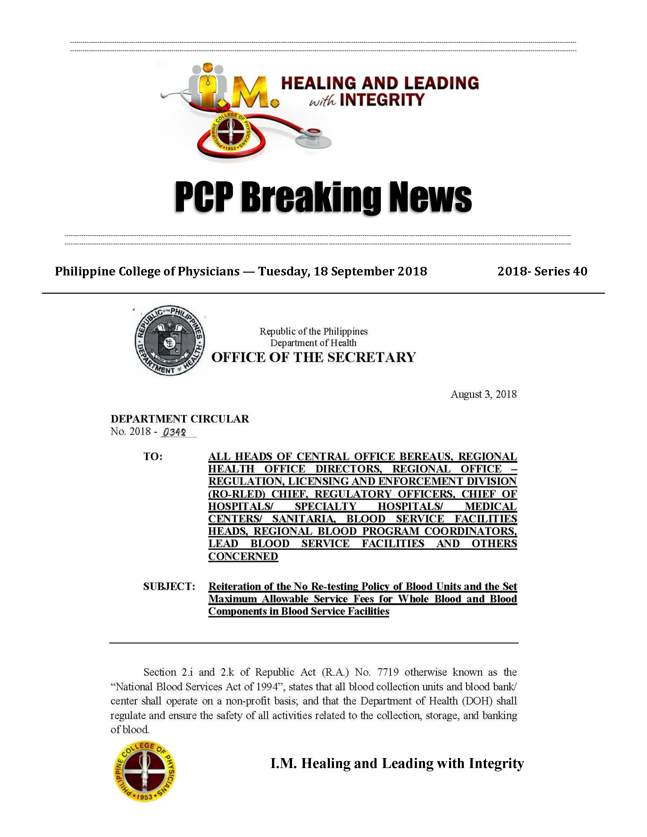 PCP Breaking News 2018 series 40 Page 1