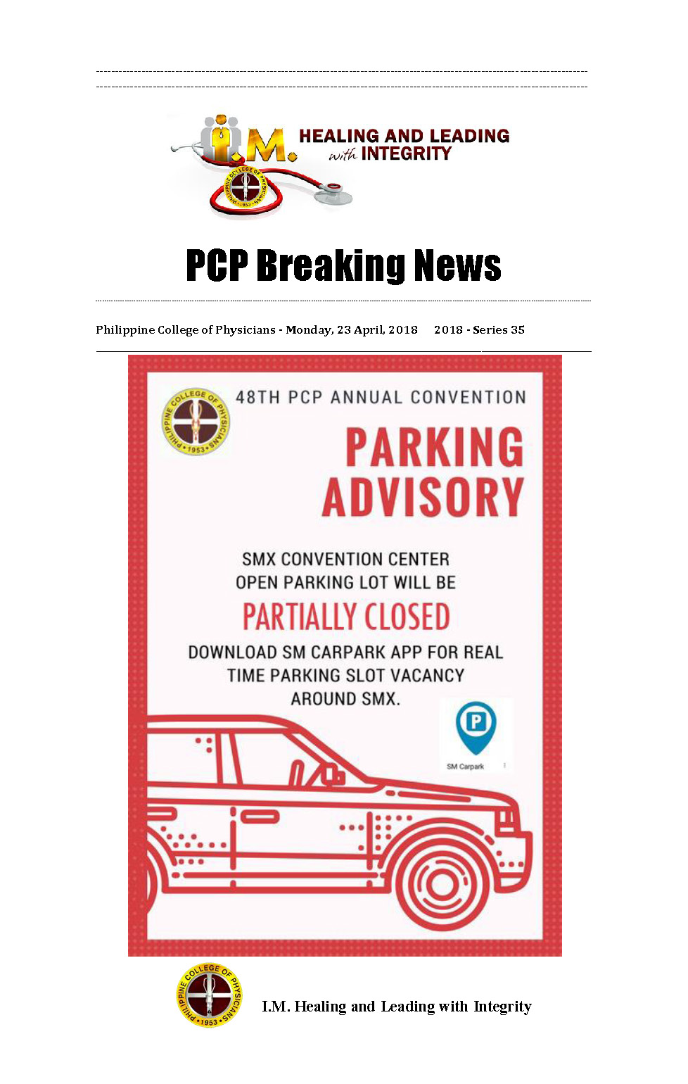 PCP Breaking News 35th