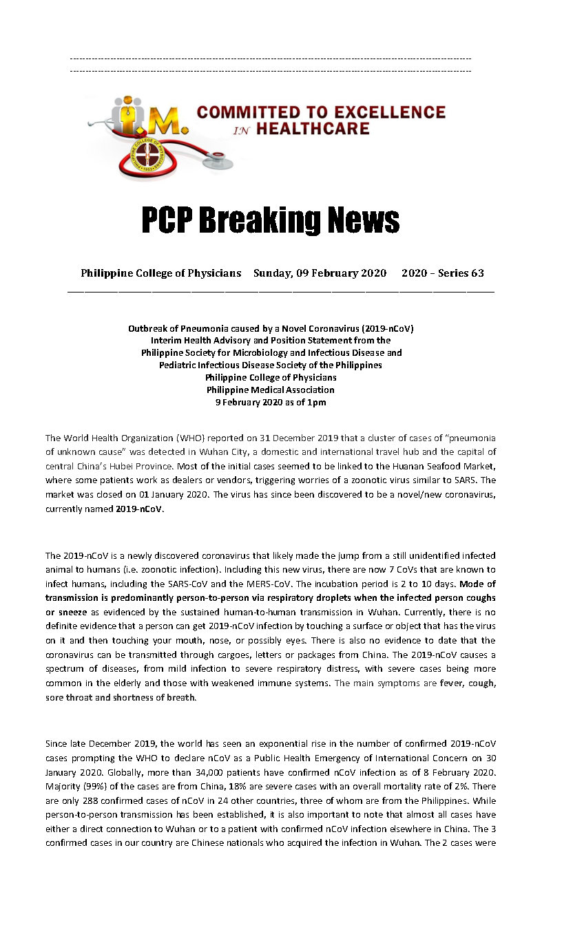 PCP Breaking News 2020 Series 63 Page1