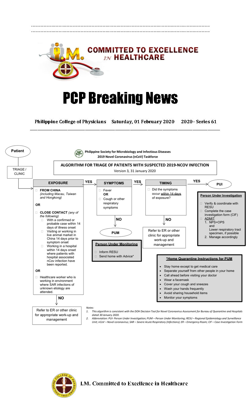 PCP Breaking News 2020 Series 61