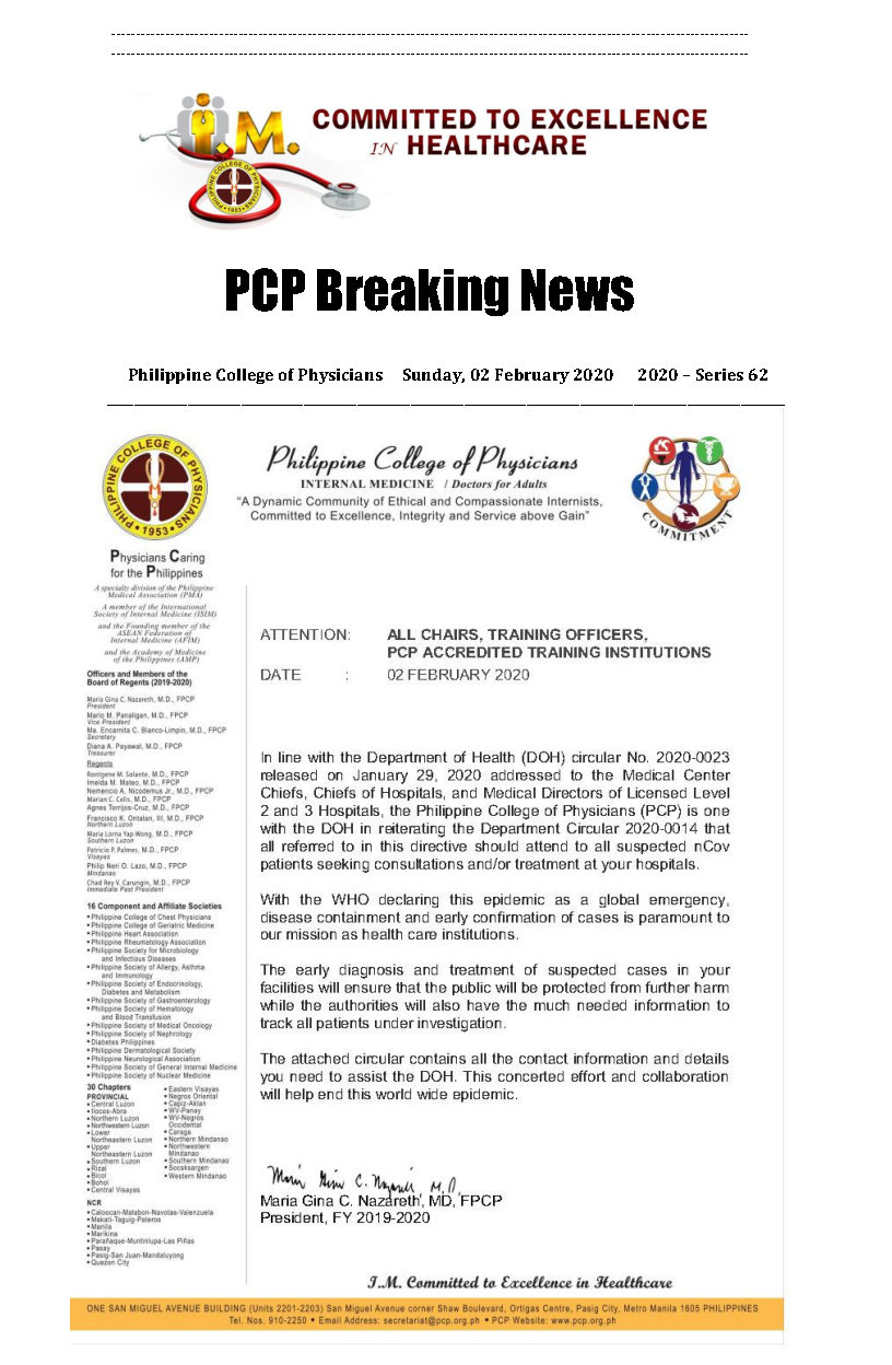 PCP Breaking News 2020 Series 62 Page1