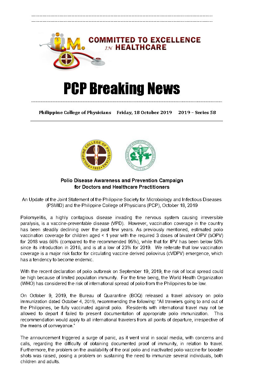 PCP Breaking News 58 Page1