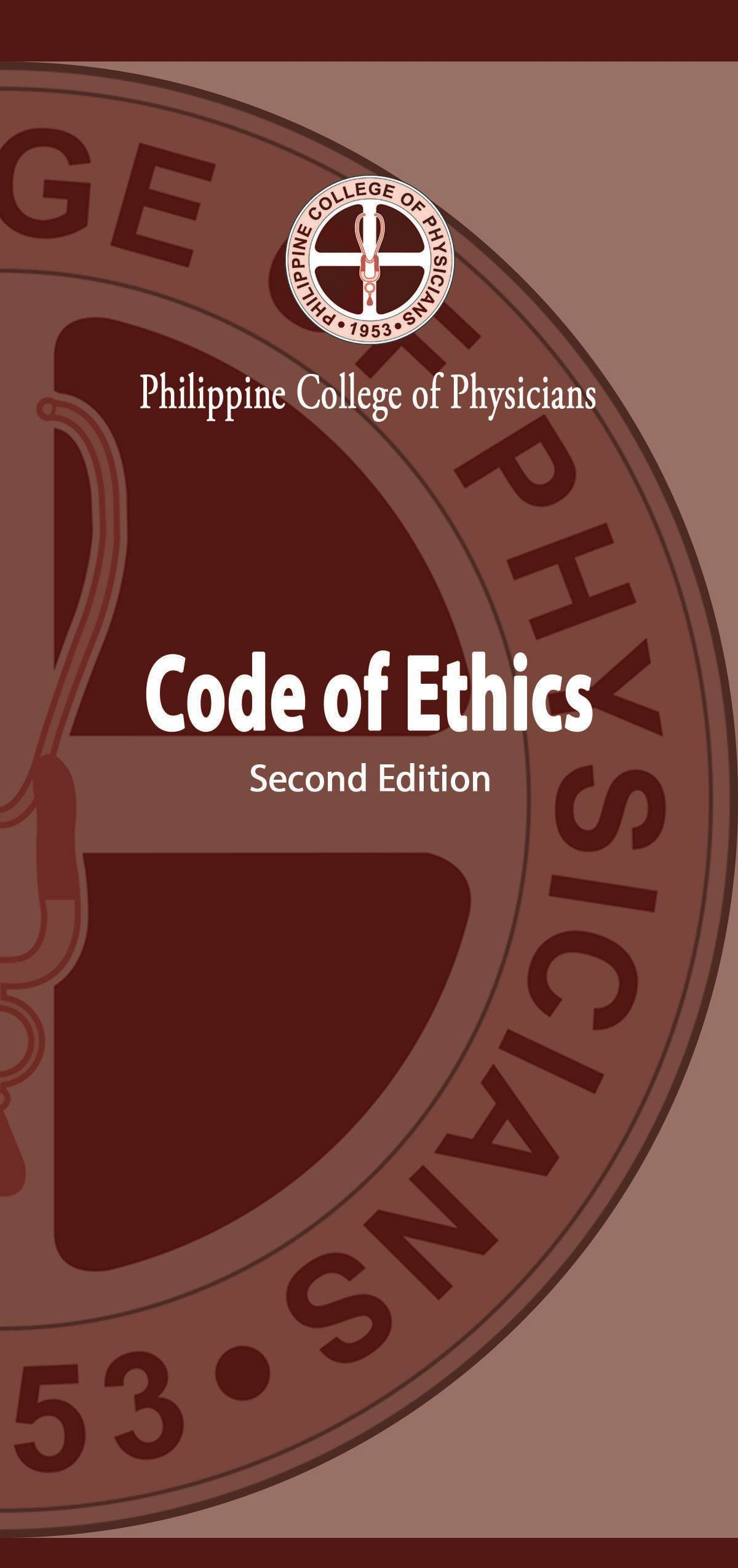PCP Code of Ethics 2019 font 11 1